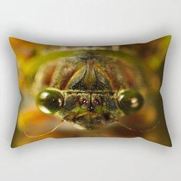 Cicada Chaos Rectangular Pillow