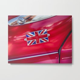 Triumph TR3 The Frog Eye Metal Print
