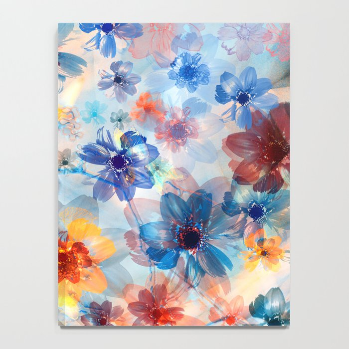 Floral abstract 37 Notebook