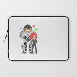 Mass Effect - Grunt and Shepard Laptop Sleeve