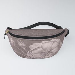 Flower - Argyle 3 Fanny Pack