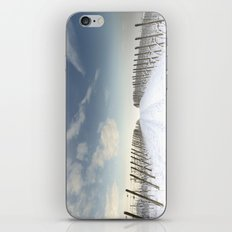 Vineyards in the snow iPhone & iPod Skin