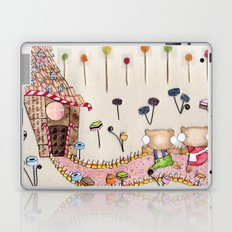 Hansel & Gretel - A House Made of Bread and Cake Laptop & iPad Skin