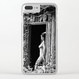 Nature Girl by MB Clear iPhone Case