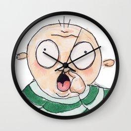 Nose Wall Clock
