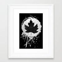 leaf Framed Art Prints featuring Leaf by Bill Pyle