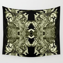 Purple Shields Wall Tapestry