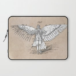 patent art Spalding Flying Machine 2    1889 Laptop Sleeve