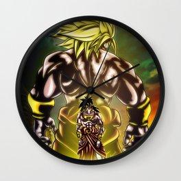The Incredible Broly Wall Clock
