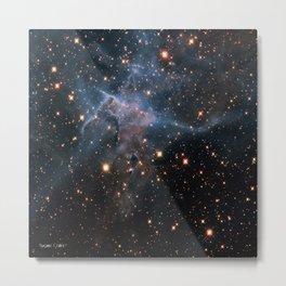 Mystic Mountain Nebula Metal Print