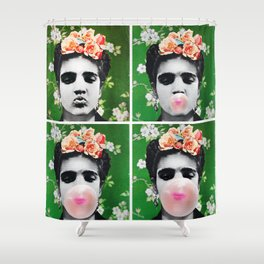 A Hunka Bubble Gum Shower Curtain