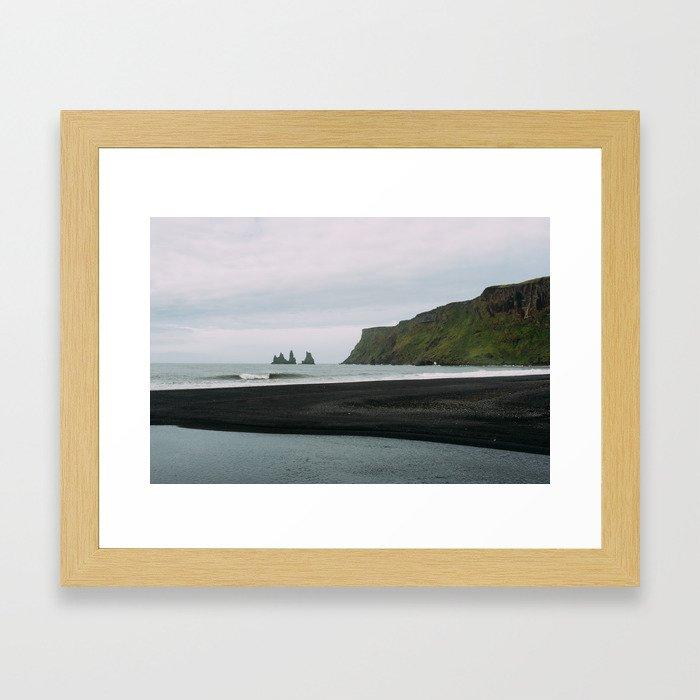 Vík Framed Art Print