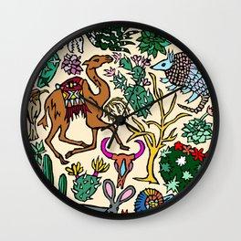 Desert In Color Wall Clock