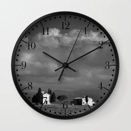 Vitaleta chapel, Tuscany Wall Clock
