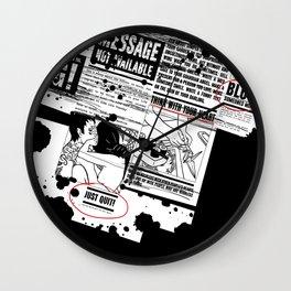 Blow someones mind Wall Clock