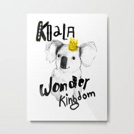 Koala Fun  Metal Print