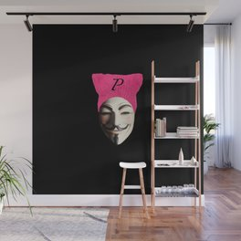 P for Vendetta Wall Mural