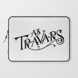 As Travars - To Travel (black) Laptop Sleeve