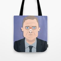 fargo Tote Bags featuring Fargo by Mohac