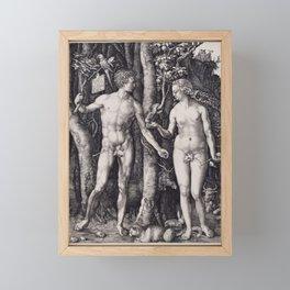 Albrecht Durer, Adam and Eve, 1504 Framed Mini Art Print