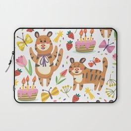 Tiger's Birthday Laptop Sleeve