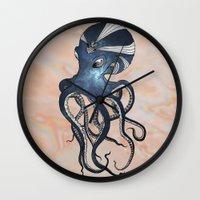 goddess Wall Clocks featuring Goddess by Janss