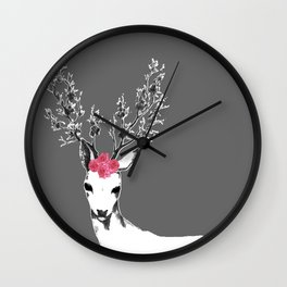 Caught In The Limelight Wall Clock