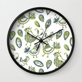 Quails Wall Clock