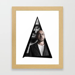 Youtriangle ∆ Sven Vath Framed Art Print