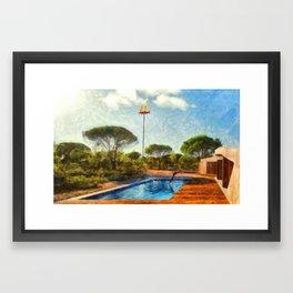 bossa nova Framed Art Print