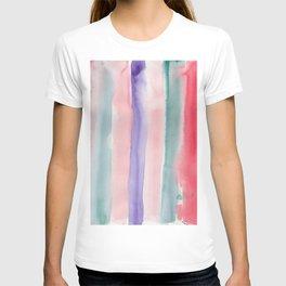 28    190907   Watercolor Abstract Painting T-shirt
