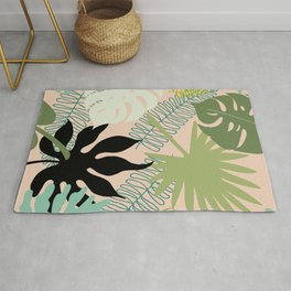 Palm Frond Play Rug