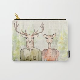 Together in Happy Land Carry-All Pouch