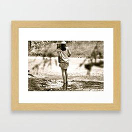 Little Wonders  Framed Art Print