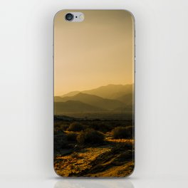 The Fading Light of Gorgonio Pass iPhone Skin