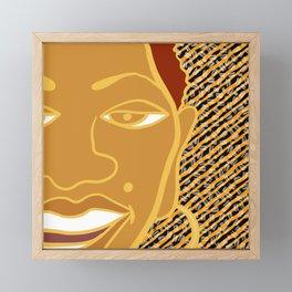 Africa Calls To Me Too Framed Mini Art Print