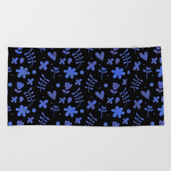 Colorful Lovely Pattern VI Beach Towel