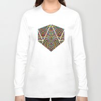 moroccan Long Sleeve T-shirts featuring Moroccan Style by Pom Graphic Design
