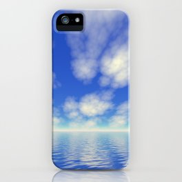 White puffies iPhone Case