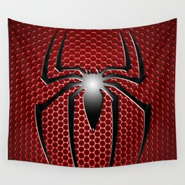 RED SPIDER Wall Tapestry