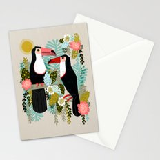 Toucans by Andrea Lauren  Stationery Cards