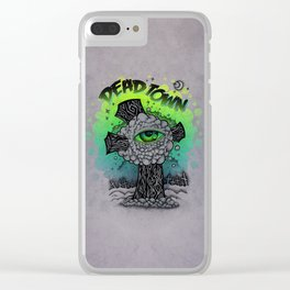 DT Cross. Clear iPhone Case