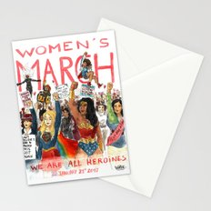 Women's March 2017 Stationery Cards
