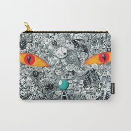 monster cat Carry-All Pouch