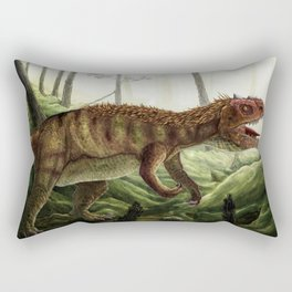 Prowling Allosaurus Rectangular Pillow