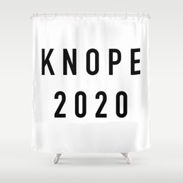 Knope 2020 Shower Curtain