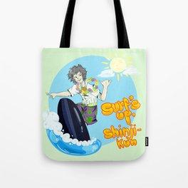 Surf's up, Shinji-kun! Tote Bag