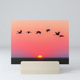 Golden Hour ll Mini Art Print
