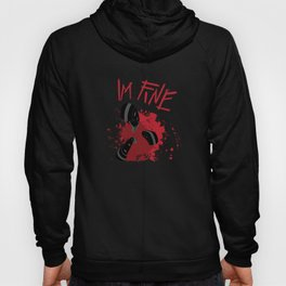 Funny Halloween Knife in Chest Shirt Hoody