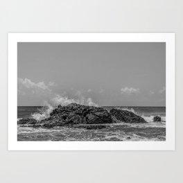 Peace and Power Sea Art Print